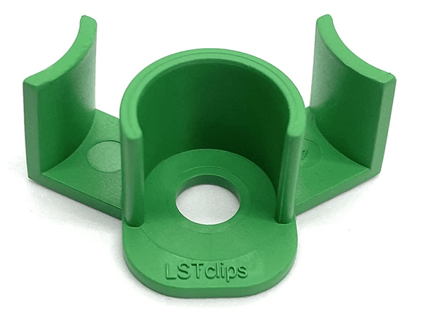 Green low stress training clip